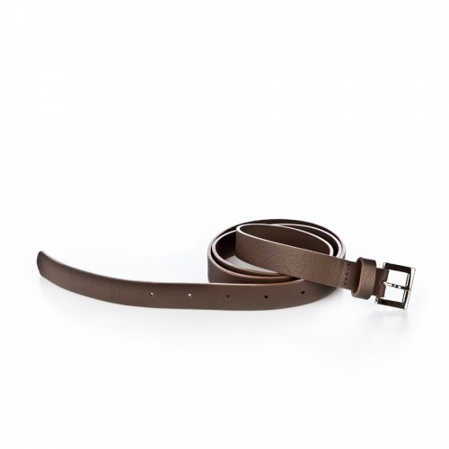 Acheter Taupe Leather Belt