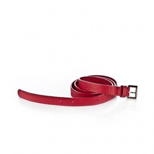 Ripauste: Ceinture Rouge en Cuir   Accessories -  Hiphunters Shop
