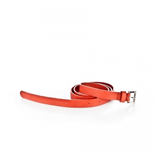Acheter Orange Leather Belt
