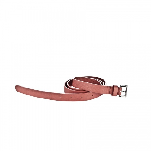 Old Pink Leather Belt