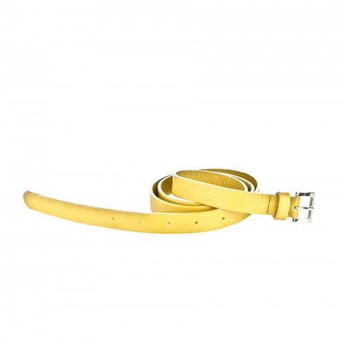 Acheter Yellow Leather Belt