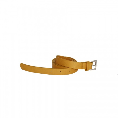 Mustard Leather Belt