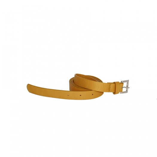 Ripauste: Ceinture Moutarde en Cuir | Accessories -  Hiphunters Shop