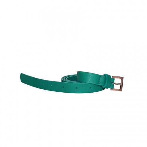 Acheter Peacock Blue Leather Belt