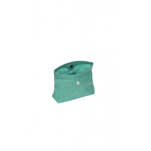 Ripauste: Pochette Small Bleu Canard | Bags,Bags > Clutches -  Hiphunters Shop