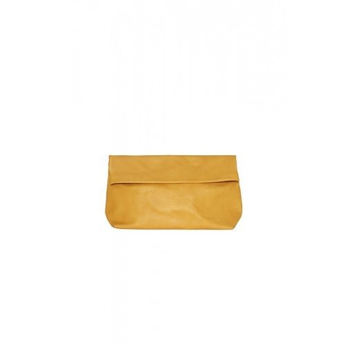Medium Mustard Leather Purse