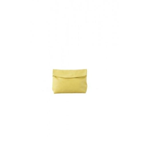 Acheter Small Yellow Leather Purse