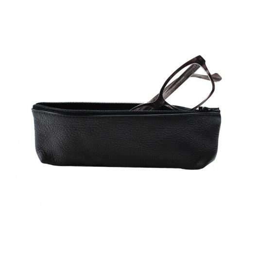 Ripauste: Trousse en Cuir Noire | Accessories,Accessories > Wash Bags -  Hiphunters Shop