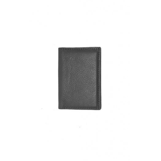 Ripauste: Porte Cartes Noir en Cuir | Accessories,Accessories > Wallets -  Hiphunters Shop