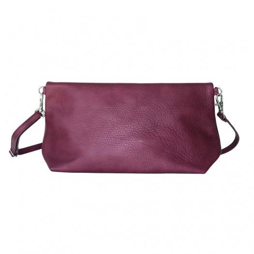 Ripauste: Pochette Bandoulière Prune   Bags,Bags > Handbags -  Hiphunters Shop
