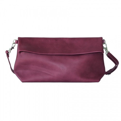 Acheter Purple Leather Shoulder Bag