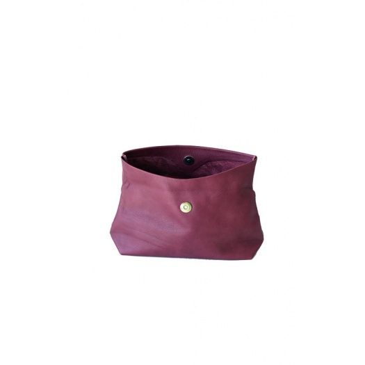 Ripauste: Pochette Medium Prune | Bags,Bags > Clutches -  Hiphunters Shop