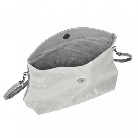 Ripauste: Pochette Bandoulière Gris Clair / Paillettes | Bags,Bags > Handbags -  Hiphunters Shop