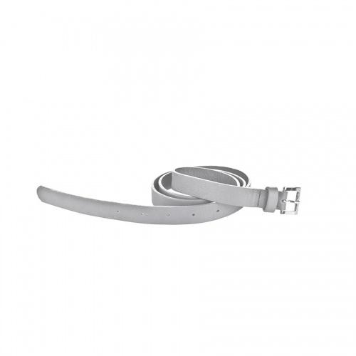 Acheter Light Grey Leather Belt