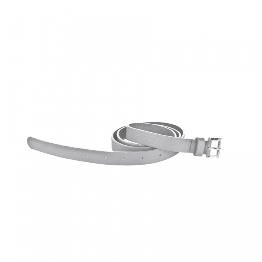 Ripauste: Ceinture Gris Clair en Cuir | Accessories -  Hiphunters Shop