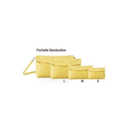 Ripauste: Pochette Small Jaune | Bags,Bags > Clutches -  Hiphunters Shop