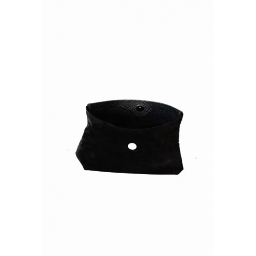 Ripauste: Pochette Medium Velours Noir / Croco |  -  Hiphunters Shop