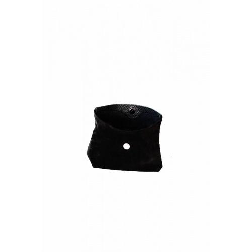 Pochette Small Velours Noir / Croco