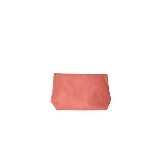 Ripauste: Pochette Medium Corail Cuir Perforé | Bags,Bags > Clutches -  Hiphunters Shop