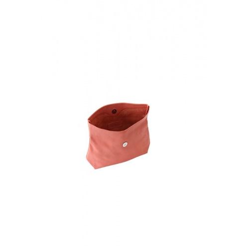Pochette Small Corail en Cuir Perforé