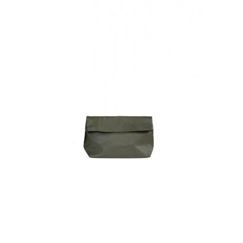 Acheter Small Khaki Leather Purse