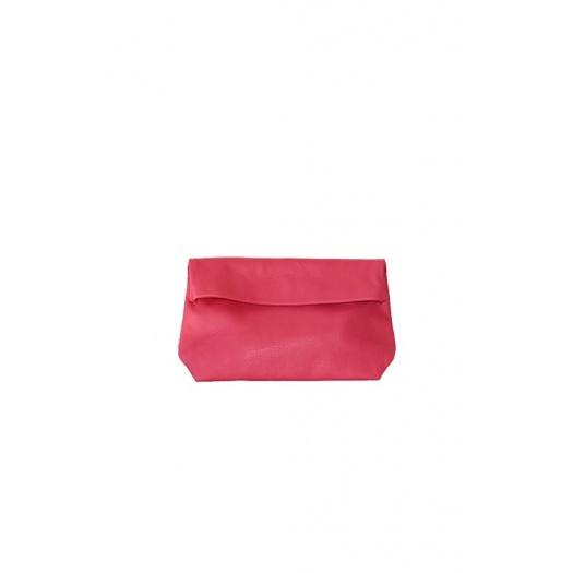 Medium Khaki Leather Purse