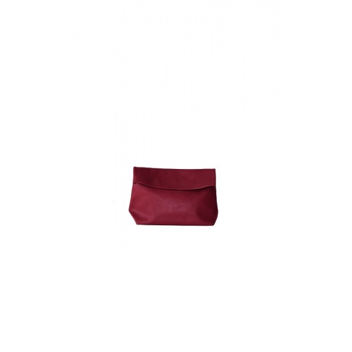 Small Burgundy Leather Purse