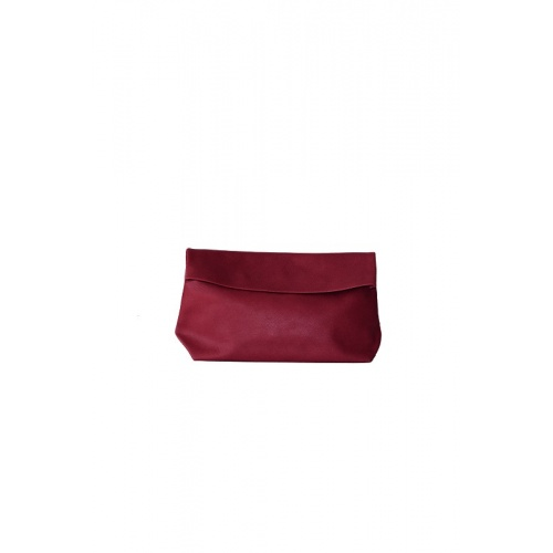Medium Burgundy Leather Purse