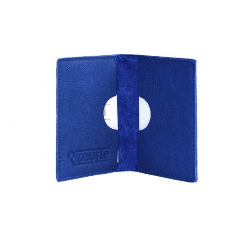 Acheter Blue Leather Card Holder