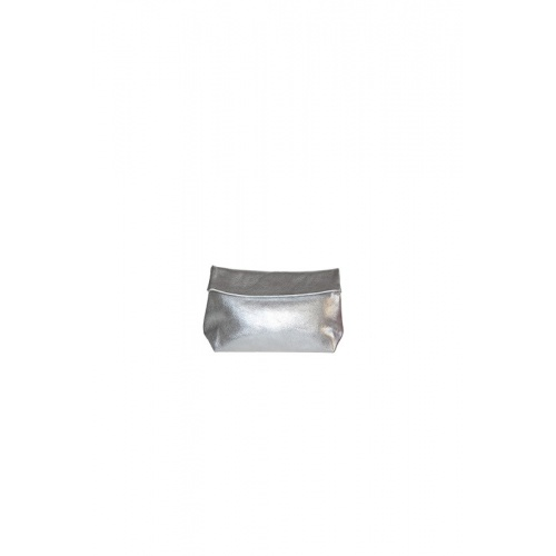 Acheter Small Silver Leather Purse