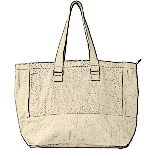 sac blanc
