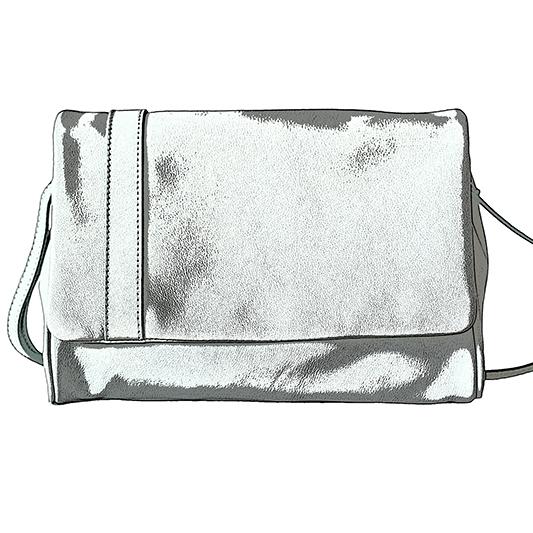 sac argenté