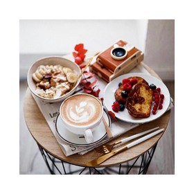 - - - Le week end devrait toujours commençait comme ça 😍- - - 📷 @latteandmood  . . . #weekend #breakfast #moodoftheday #enjoy #samedi #petitdej #coffee #familytime #holidays #profiter #happyday #saturday #programme
