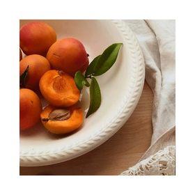 - - - 🍑 BON WEEK END 🍑- - -  Avec les fortes chaleurs annoncées le programme ne sera pas très dense… On va plonger dans la piscine, faire le plein de fruits et d'infusions glacées et surtout profiter des instants en famille 🧡 . . . 📷 @instagram  #weekend #samedi #break #petitdejeuner #vitamines #family #pause #abricot #orange #couleur #vibes